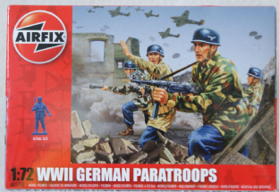 Airfix 1/72 AX01753 German Paratroopers (WW2)